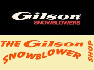 Gilson Snowblower Collecting and Support