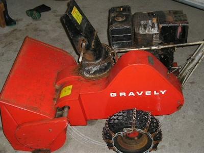 Gravely Bobcat