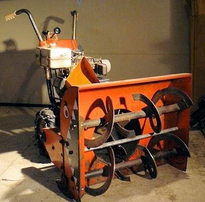 The Gilson Snowblower Shop's Vintage Machine Showcase